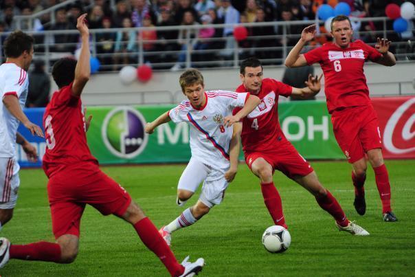 Два матча молодежной сборной России по футболу проведут в Ростове