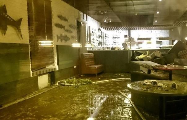 «СОГАЗ» выплатил 6 млн р. всвязи сзатоплением ресторана