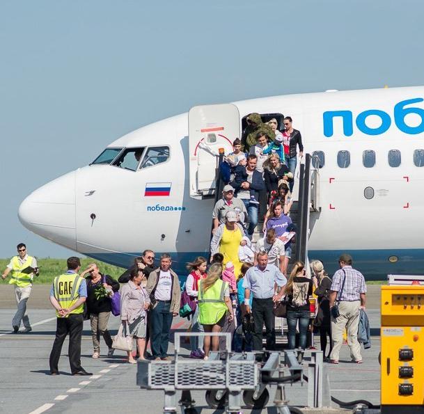 Самолет совершил посадку ваэропорту «Внуково» из-за подозрительных шумов