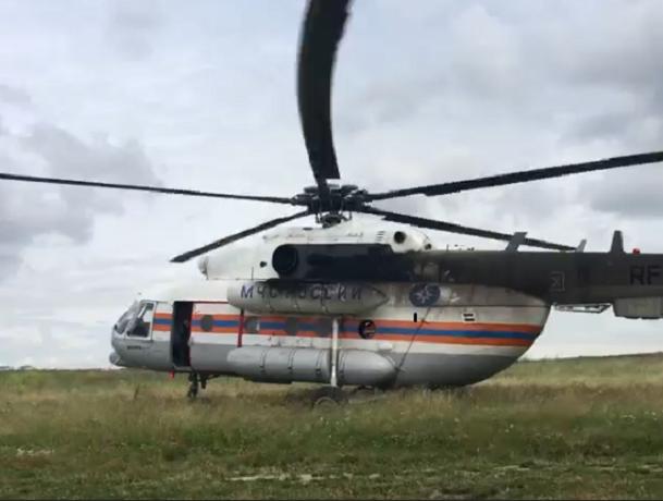 Вертолет со спасателями отправился на  поиски таинственно исчезнувших туристов из Ростова на видео