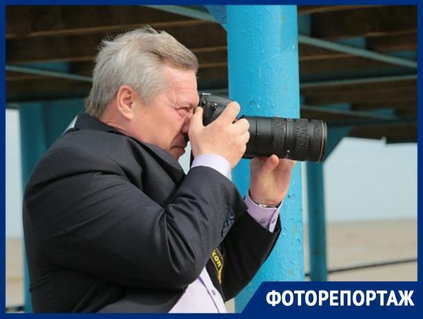 В свободное от управления регионом время Василий Голубев фотографирует природу