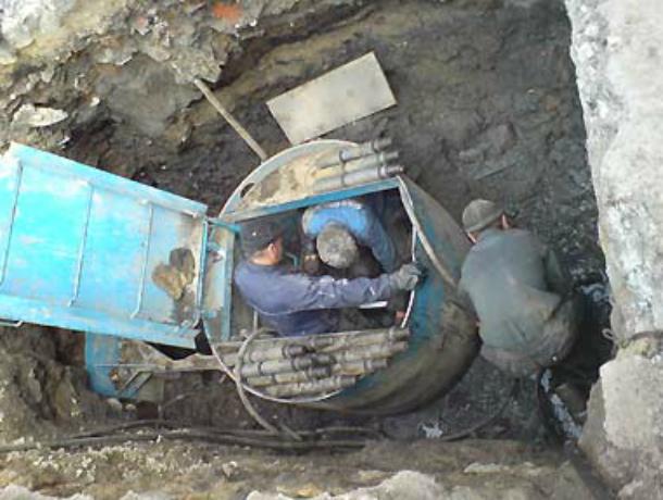 Ростовский водоканал будет прокладывать трубы без рытья траншей