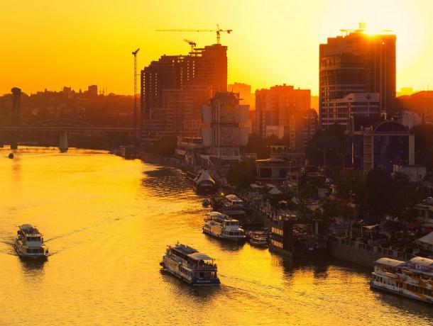 Солнечная и ясная погода поманит на природу жителей Ростова в это воскресенье