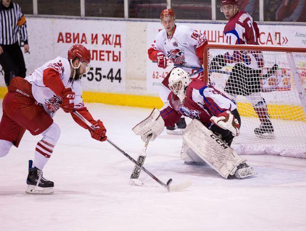 Всухую обыграв хоккеистов «Алтая», ХК «Ростов» победил в первенстве Высшей хоккейной лиги