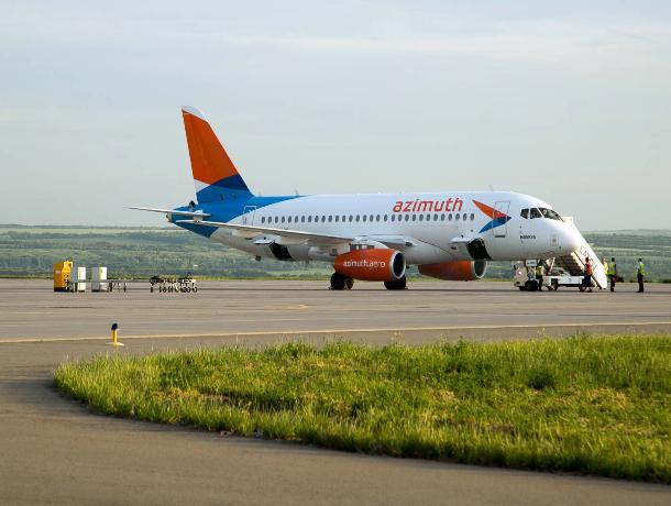Авиакомпании «Азимут» разрешили летать из Ростова в Тель-Авив и Баку