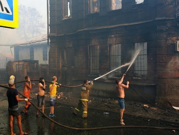 В Ростове завершено расследование пожара на Театральном спуске