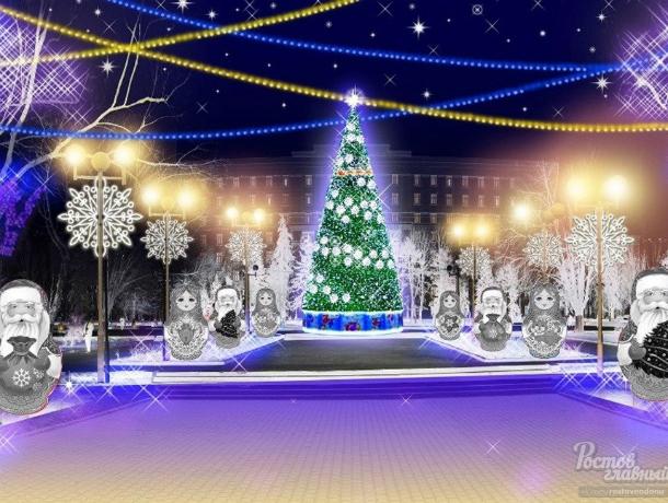 «Праздник к нам приходит»: в Ростове объявлен тендер на украшение города к Новому году