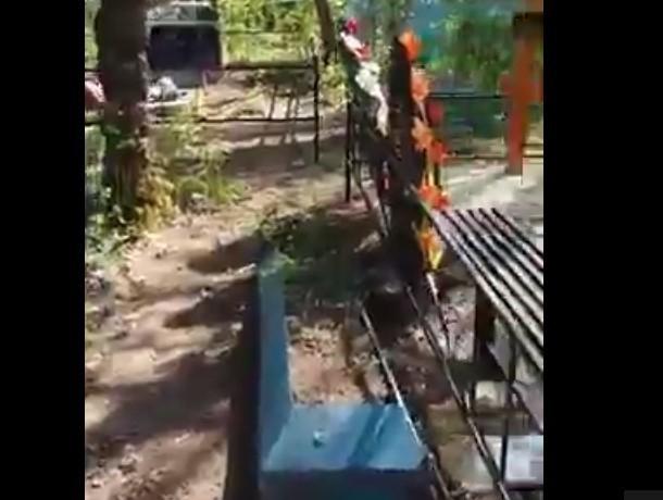 Жители Новочеркасска жалуются на незаконные подзахоронения к могилам своих родственников