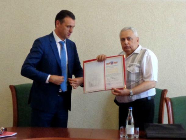 Известный криминолог и писатель из Ростова Данил Корецкий принимал поздравления с юбилеем