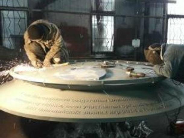 Трехметровую Стеллу выковали и напечатали на 3-D принтере мастера из Ростовской области