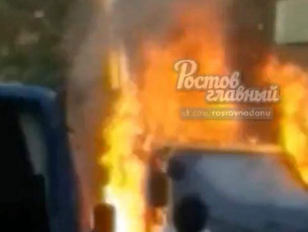 Оглушительным взрывом напугал жителей Ростовской области строительный кран