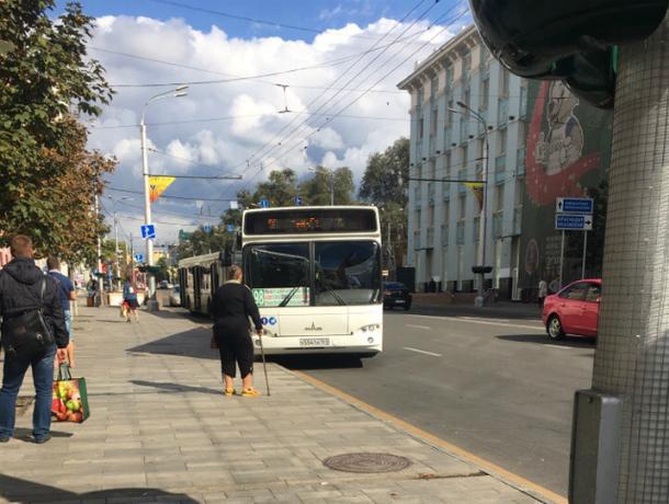 Дорожный квест «поймай меня, если сможешь» устраивают автобусники пассажирам в центре Ростова