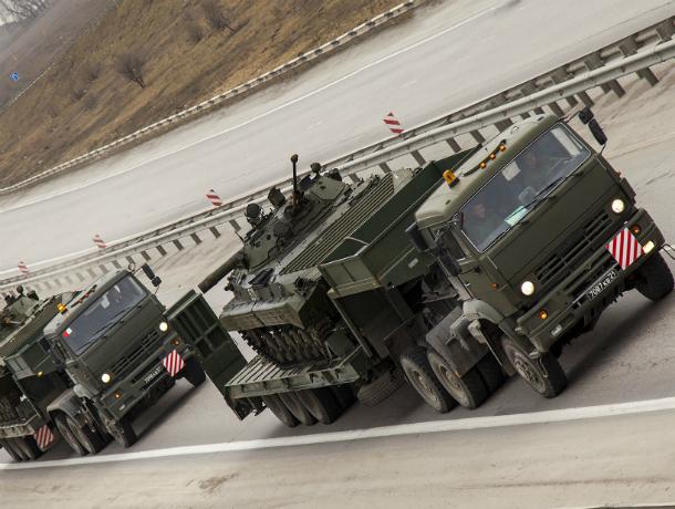 Генштаб ВСУ: РФформирует вблизи границ Украинского государства 10-тысячную дивизию