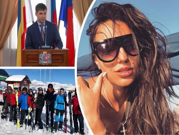 Гражданская жена врио главы Ростова любит отдых за границей и обожает своих дочерей
