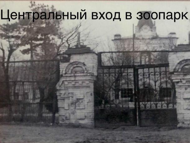 Ростовчане смогут узнать все тайны ростовского зоопарка в годы войны