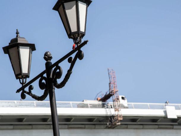 Новым фонарям за 400 тысяч рублей обрадуются глаза жителей Ростова