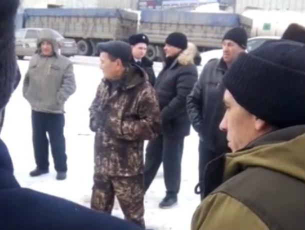В забастовке зерновозов на юге России принимают участие около 9 тысяч человек