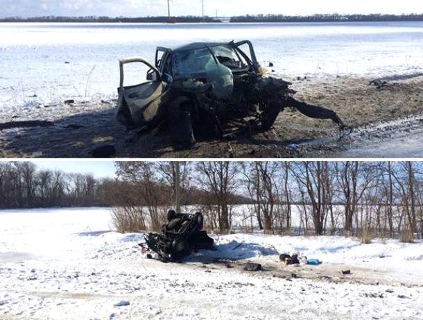 Один умер ичетверо ранены вДТП натрассе «Миллерово-Вёшенская»