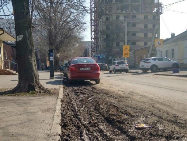 Платная автопарковка класса «люкс» с особой функцией для водителей появилась в центре Ростова