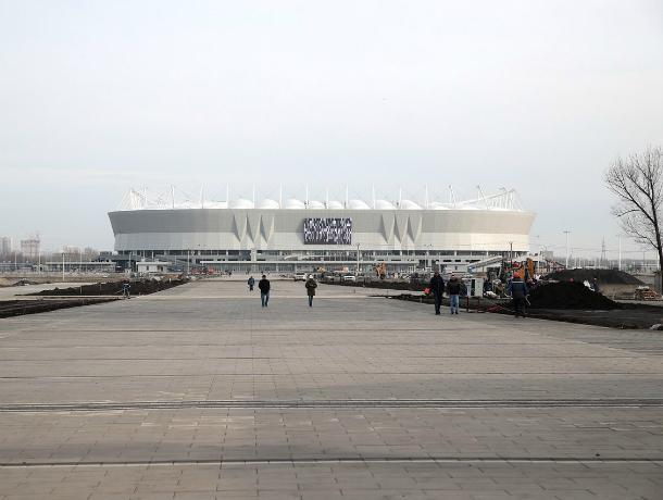 Губернатор Ростовской области Василий Голубев проинспектировал завершение работ устадиона «Ростов-Арена»
