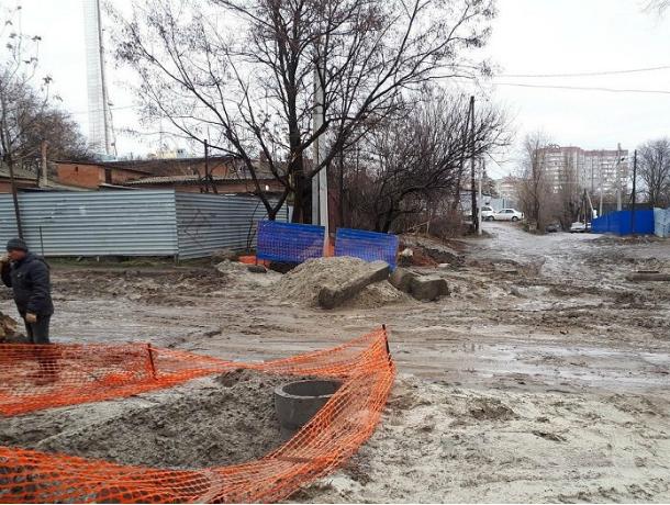 Два месяца сумасшедших пробок ждет автомобилистов на Ворошиловском проспекте в Ростове