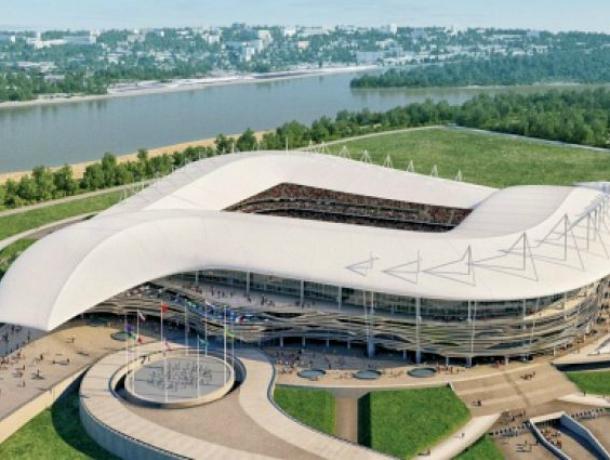 Из-за благоустройства «Ростов-Арены» ограничат движение наулице Пойменной