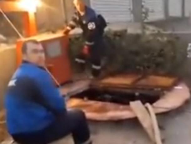 «Ароматный» и бодрящий «бассейн» из фекалий устроили рабочие жителям Ростова на видео