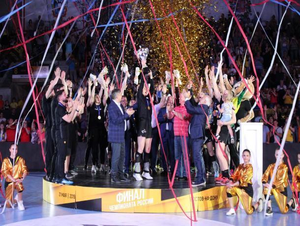 ГК «Ростов-Дон» вновь стал чемпионом России по гандболу