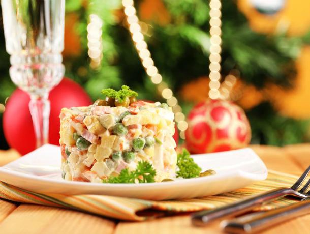 Приготовление оливье для новогоднего стола ростовчанам «влетит в копеечку»