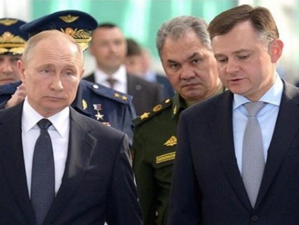 Сын бывшего гендиректора «Роствертола» может быть назначен врио губернатора Ростовской области
