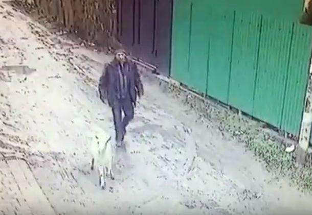 Похититель козы Маши из многодетной семьи в Ростове попал на видео