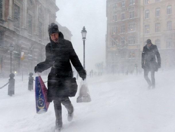 Зима пошла в«разгул»: квечеру вРостовской области предполагается метель