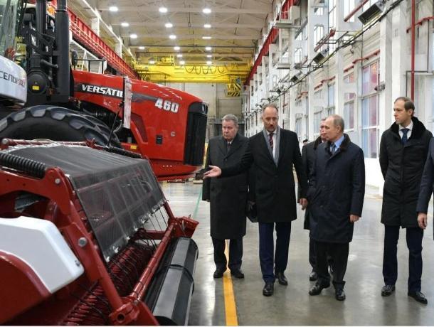 Тракторный завод в Ростове начнет работу в 2022 году