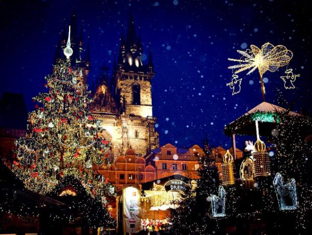 Новогодние каникулы ростовчан в Праге – превращаем сказку в быль