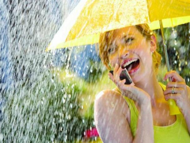 Ласковый дождик спасет от удушающей жары жителей Ростова