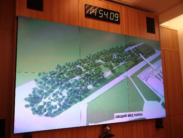 Напротив музея «Самбекские высоты» появится новый парк