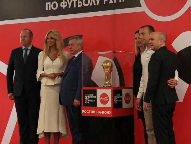 Виктория Лопырева встретила вРостове Кубок чемпионата мира