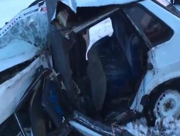 Видео последствий смертельной аварии в Ростовской области шокировало горожан