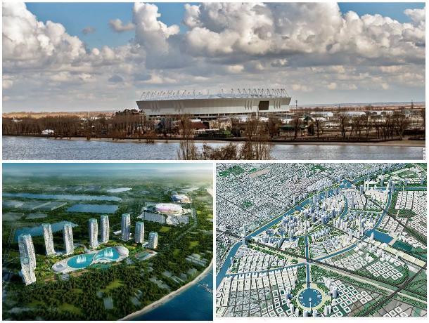 Потемкинская деревня или новый центр Ростова: во что превратится Левбердон в ближайшие годы