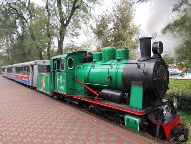 Ремонт детской железной дороги в Ростове завершат в 2020 году