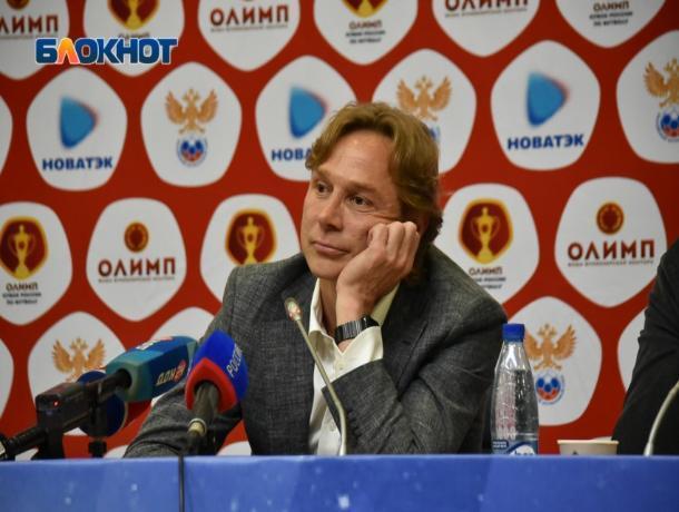Валерий Карпин остается главным тренером «Ростова»
