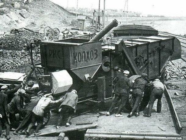 Календарь: 89 лет назад «Ростсельмаш» выпустил первый комбайн – «Колхоз»
