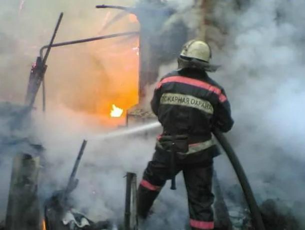 ВРостовской области рядом сгорящими дровами был найден труп