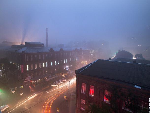 В Ростове ожидается резкое ухудшение погоды