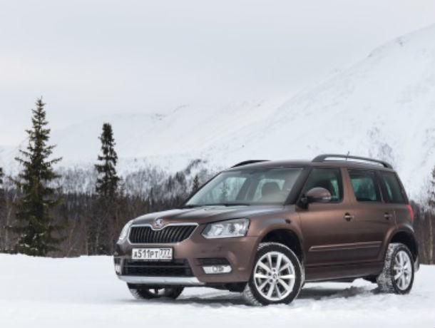 Специальное предложение от Л-Моторс для клиентов ŠKODA: комплект зимних колес при покупке YETI