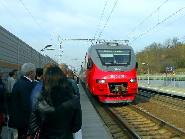 У городской электрички в Ростове появится новая остановка