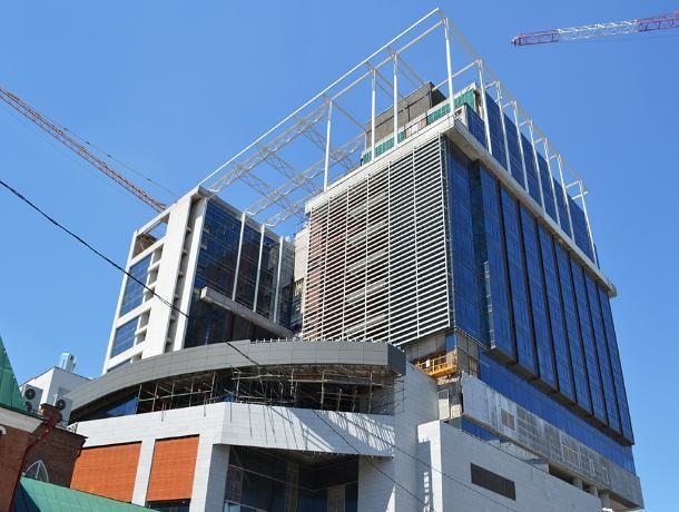 В Ростове возобновили строительство отеля Hyatt