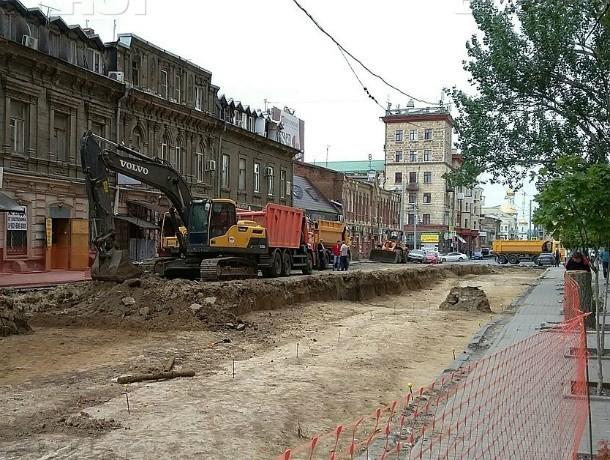 На реконструкцию улицы Станиславского выделят еще 84 миллиона рублей в Ростове