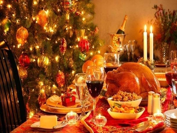 Новогодний стол обойдется ростовчанам в2-2,5 тысячи руб.