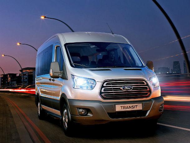 Ford Transit («Форд Транзит») с выгодой до 400000 рублей в июне в Transit-центре Автолига